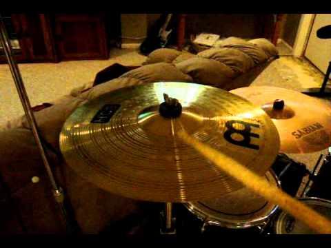Meinl Hcs Crash Cymbal Demo