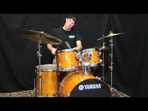 Yamaha Stage Custom Maple 5-Piece drum set