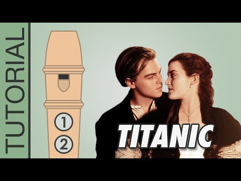 Titanic: My Heart Will Go On - Recorder Flute Tutorial