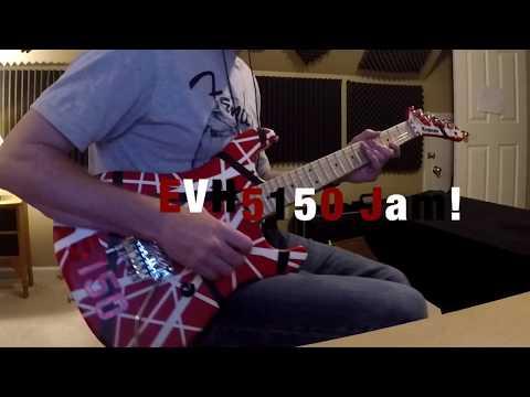 EVH 5150 Striped Series Guitar - Jam | By Tony Larremore