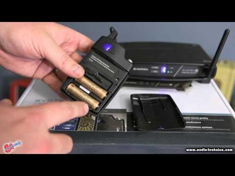 Audio-Technica Sytem 10 Digital 2.4 Ghz Wireless System Demo by Scott Sill