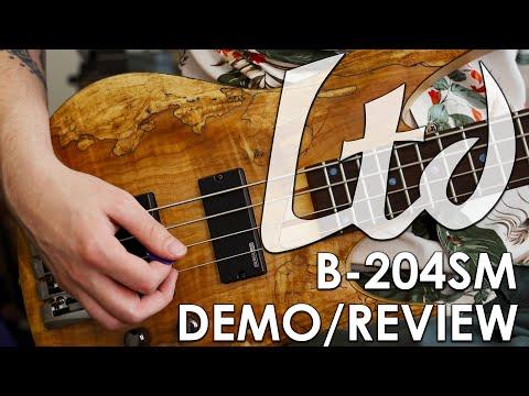 ESP LTD B-204 Bass | Demo and Review