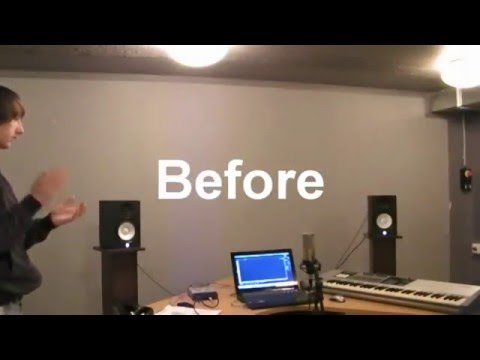 Bass traps - With and without it