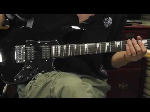 Ibanez GRGM21 reduced sized Elecric Guitar