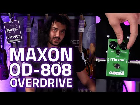 Maxon OD-808 Overdrive - The Original Green Overdrive!