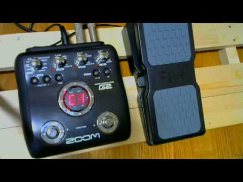 M-AUDIO Ex-P expression pedal & zoom G2