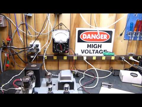 5U4, 5R4, 5V4, 5AR4 & Solid State Rectifier Performance in Vacuum Tube Amplifiers