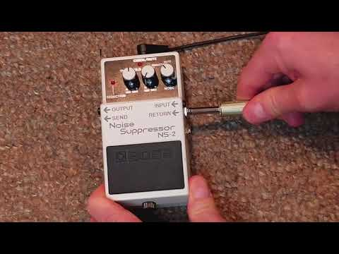 How To Use The Boss NS-2 Noise Suppressor Pedal More Effectively