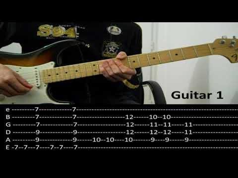 RHCP - Dani California (Guitar lesson with TAB)