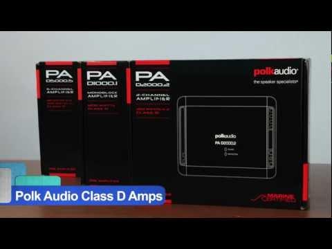 Polk Audio PA D1000.1 Class D Monoblock PA Digital Series Car Amplifier