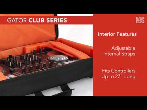 G-Club Series DJ Controller Backpack from Gator Cases