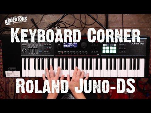 Keyboard Corner - Roland Juno DS