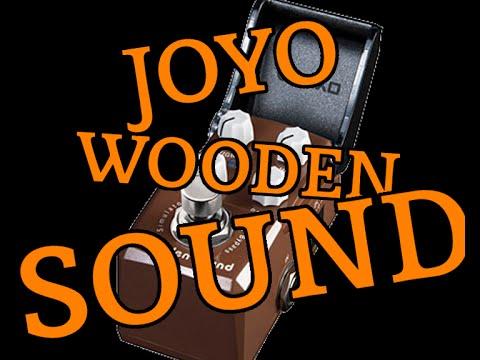 Joyo Iron Man JF 323 Wooden Sound Acoustic Sim mini pedal! Matt C gear demo