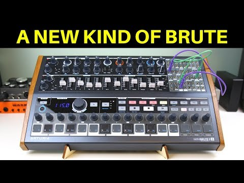 MiniBrute 2S Review – Analog Synthesizer with a Powerful Sequencer