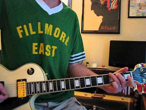Lines on My Face Lesson - Peter Frampton