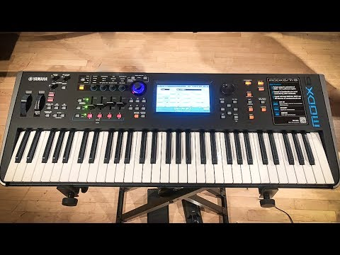Yamaha MODX Revealed! First Look & Sounds