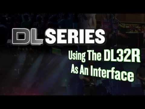 Mackie DL32R - Using the DL32r as a audio interface for a computer