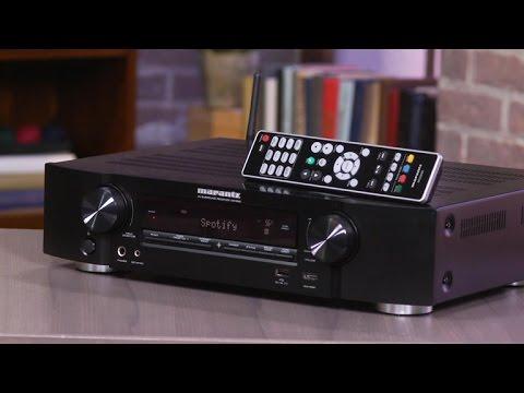 Slimline Marantz NR1506 piles on features and performance