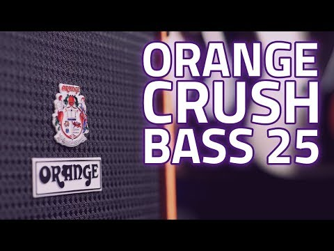 Orange Crush Bass 25 Combo Demo & Review - Small Amp, Huge Sound!