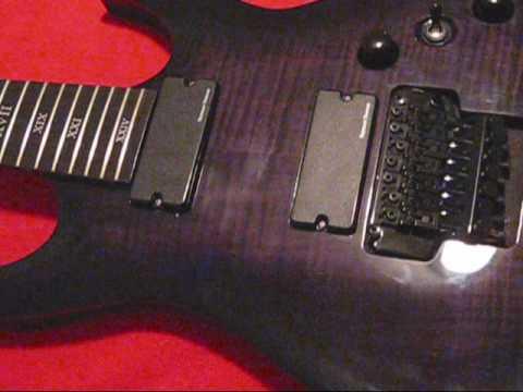 Floyd Rose Setup/restring 7 string guitar. pt. 1