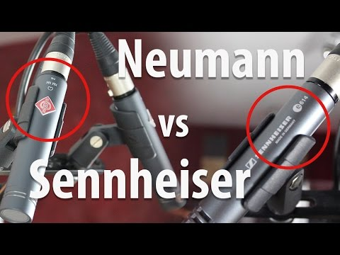 Overhead Mic Comparison // Neumann KM 184 vs. Sennheiser e614