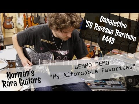 "LEMMO DEMO: Danelectro '56 Reissue Baritone $449 | ""My Affordable Favorites"""
