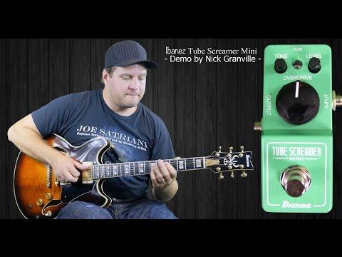 Ibanez Mini TubeScreamer (Mini TS) Demo / Review
