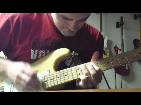 Squier Strat with Pickup Upgrade (Duncan SSL-1) Tone Demo