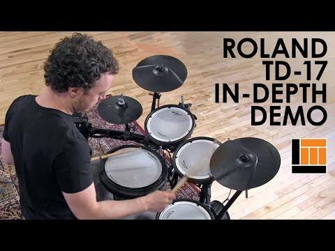 Roland TD-17 V-Drum Kit [In-Depth Demonstration]