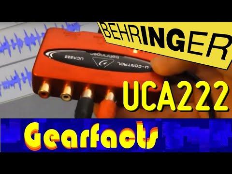 Behringer UCA-222 USB recording interface