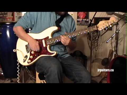 FENDER Tex-Mex Pickup Demo - Stratocaster