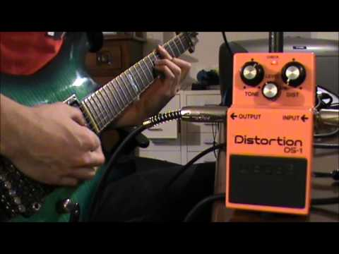 Boss DS-1 Distortion Pedal Review