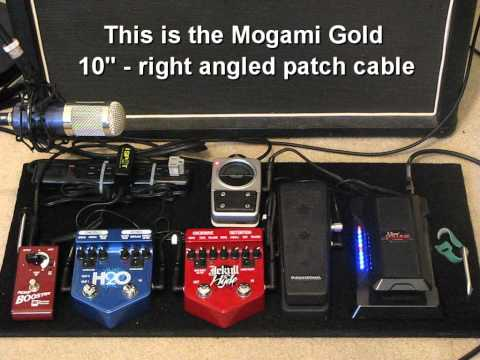 Mogami Cable Vs. Cheap Cable