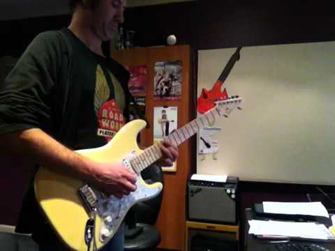 Seymour Duncan Pearly Gates in a Fender Stratocaster