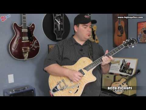 Taylor Guitars - Taylor T3/B - Semi-hollow Electric Guitar Demo by Scott Sill
