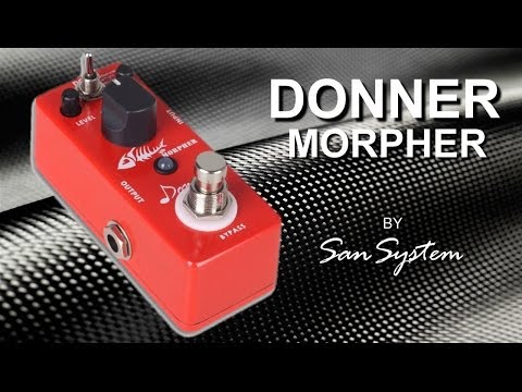 DONNER - Morpher ( Clone Suhr Riot )