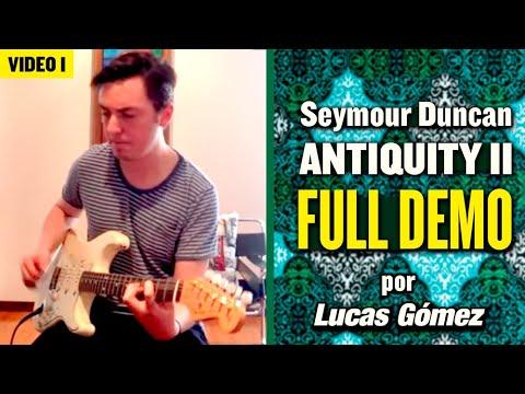 🔥 Seymour Duncan Antiquity II Surf strat pickups full 🔥 Demo review