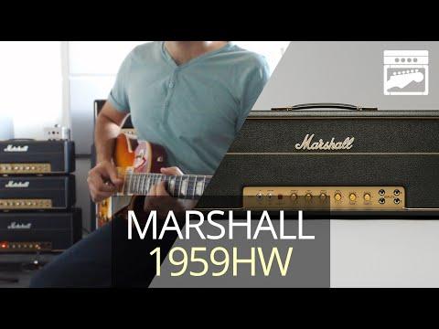 Marshall Handwired 1959HW Super Lead Plexi 100 Amp Demo