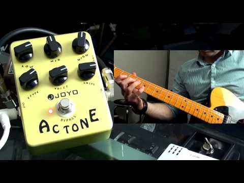 Joyo AC Tone Amplifier Emulation Pedal (Vox Tones)