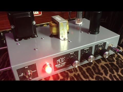 ModKitsDIY - Mod 102+ Amp Demo & Review
