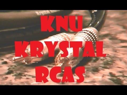KnuKonceptz Krystal RCA Cables