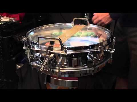 Changing My Snare Wires On My Sonor Phonic Snare Drum
