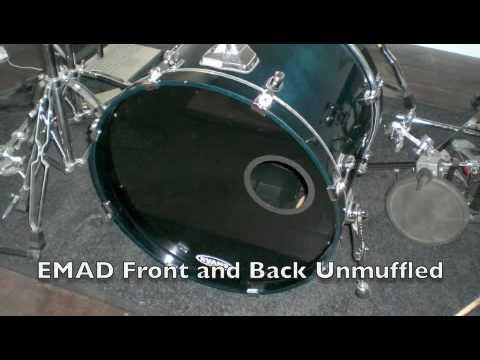 Evans EMAD Bass Drum Test