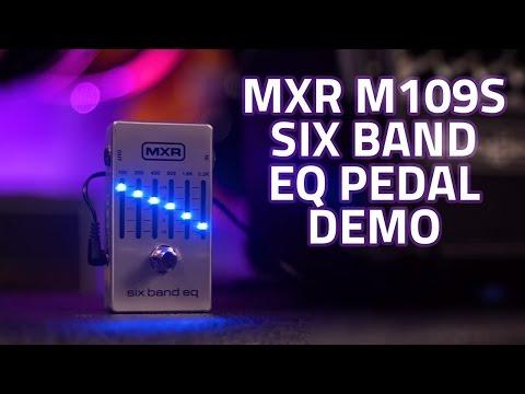 MXR M109S Six Band EQ Pedal Demo