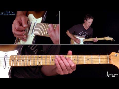 Aces High Guitar Lesson (Rhythms) - Iron Maiden