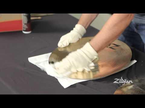 Zildjian - How to Clean Brilliant Finish Cymbals
