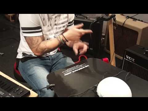 See what Josh Devine (of One Direction) does with Korg ClipHit!