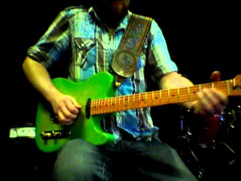 EMG Backstage - Chuck Ward - EMG TX Set demo (Nashville Tone Showcase 2012)