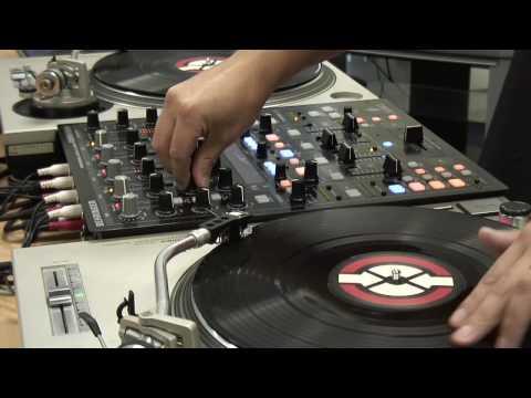 Infinium X1 Optical Fader in DJ Mixer DDM4000 (Behringer)
