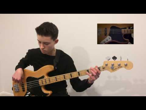Squier by Fender Vintage Modified Maple Jazz bass demo